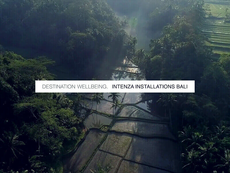 Destination Wellbeing.  Intenza Bali Installations