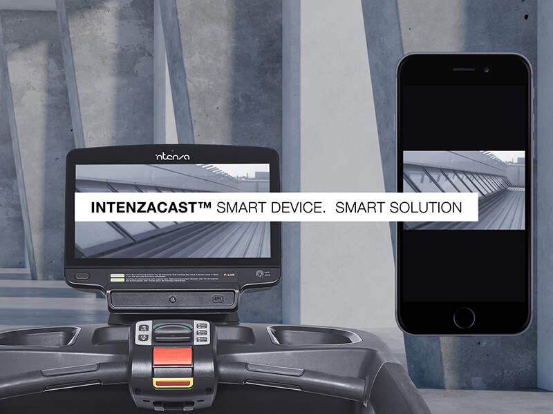 Intenzacast™ Smart Device.  Smart Solution