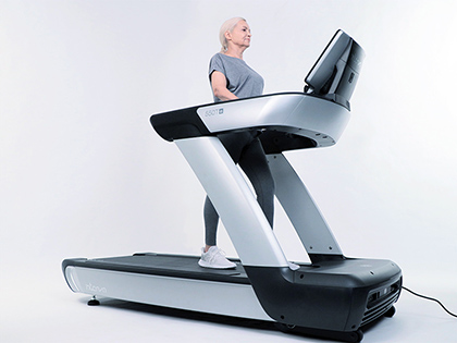INTENZA TREADMILL_IMAGEBANK_WALKING AND ACTIVE AGEING